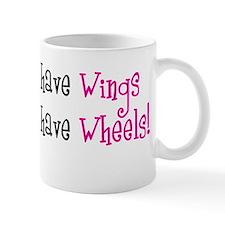 Some Angels have Wheels Small Mug
