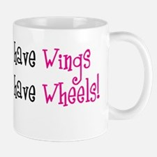 Some Angels have Wheels Small Small Mug