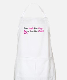 Some Angels have Wheels Apron