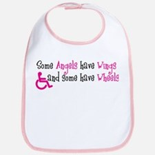 Some Angels have Wheels Bib