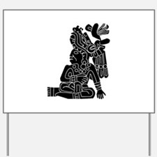 Mexican Aztec Protection Yard Sign