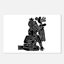 Mexican Aztec Protection Postcards (Package of 8)
