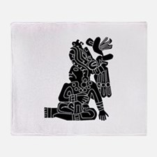 Mexican Aztec Protection Throw Blanket