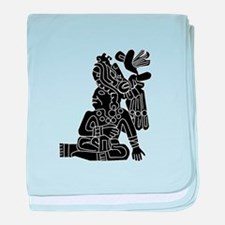 Mexican Aztec Protection baby blanket