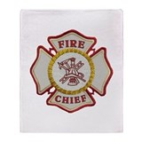 Fire dept Fleece Blankets