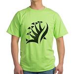 Tribal Frond Green T-Shirt