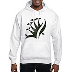 Tribal Frond Hooded Sweatshirt