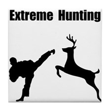 Extreme Hunting Tile Coaster