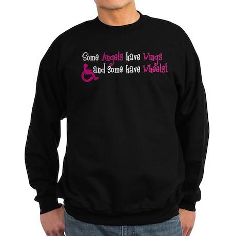 Some Angels have Wheels Sweatshirt (dark)