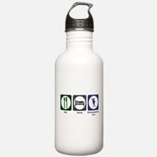 Eat - Sleep - Ren Fair Water Bottle