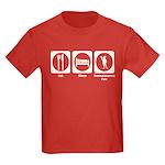 Eat - Sleep - Ren Fair Kids Dark T-Shirt
