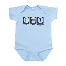 Eat - Sleep - Ren Fair Infant Bodysuit