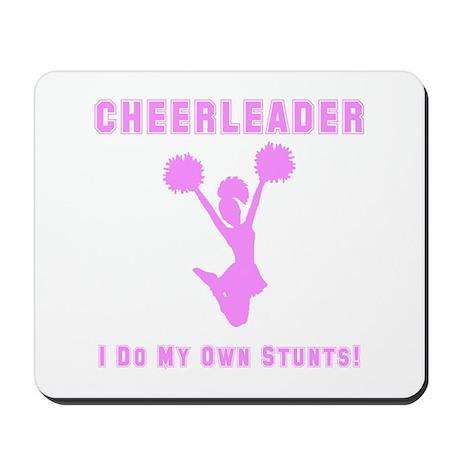 Cheerleader Stunts Mousepad