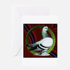 Berliner Circle Pigeon Greeting Card
