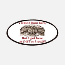 Not Born Here Patches