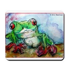 Tree Frog, Bright, Mousepad