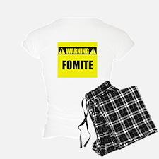 WARNING: Fomite pajamas