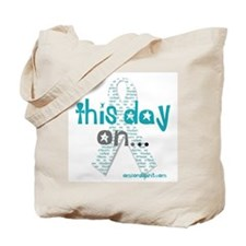 This Day On...(teal) Tote Bag