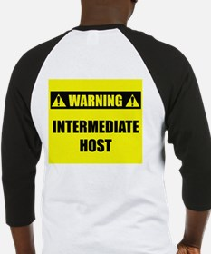 WARNING: Intermediate Host Baseball Jersey