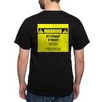 WARNING: Vet Student Under Pressure Dark T-Shirt