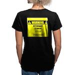 WARNING: Vet Student Under Pressure Women's V-Neck