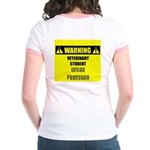 WARNING: Vet Student Under Pressure Jr. Ringer T-S