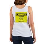 WARNING: Vet Student Under Pressure Women's Tank T