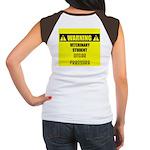 WARNING: Vet Student Under Pressure Women's Cap Sl