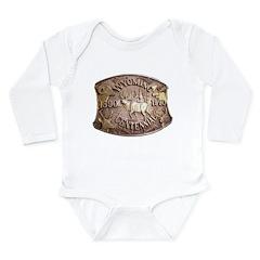 WY Centennial Long Sleeve Infant Bodysuit