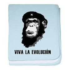 Viva La Evolution baby blanket