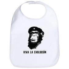 Viva La Evolution Bib