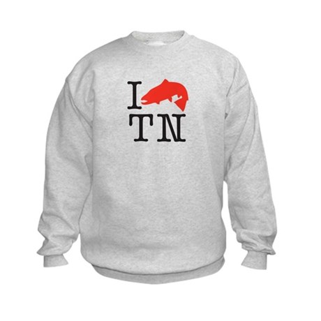 I Fish TN Kids Sweatshirt