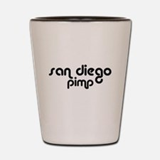SAN DIEGO T-SHIRT YOU STAY CL Shot Glass