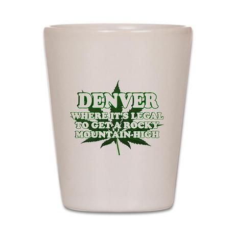 DENVER, DENVER POT, DENVER MA Shot Glass
