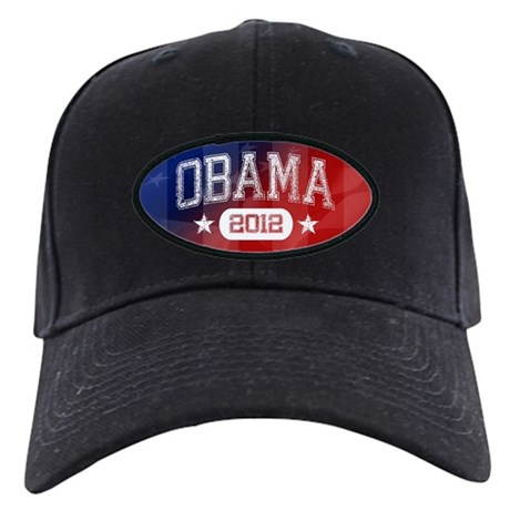 Obama 2012 Black Cap