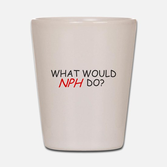 WHAT WOULD NPH DO SHIRT NEIL Shot Glass