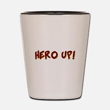 KIDS SUPER HERO SHIRT HERO UP Shot Glass
