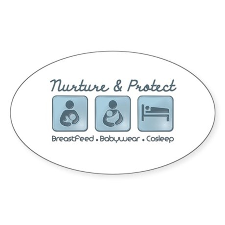 Nurture and Protect Sticker