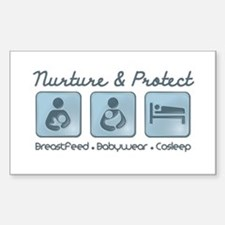 Nurture and Protect Decal