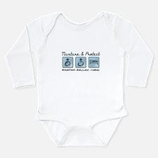 Unique Babywearing Long Sleeve Infant Bodysuit