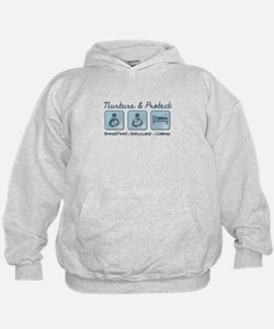 Funny Attachment Hoodie