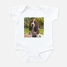 BASSET HOUND PUPPY Infant Bodysuit