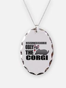Corgi Necklace
