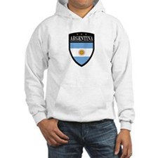 Argentina Flag Patch Hoodie
