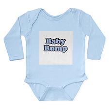Baby Bump Long Sleeve Infant Bodysuit