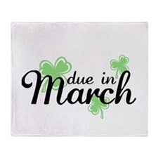 Cute March babies Throw Blanket