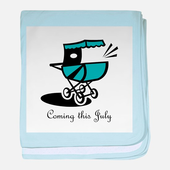 Coming This July baby blanket