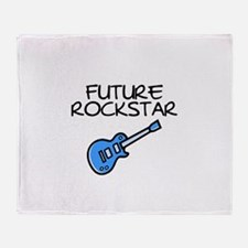 Future Rockstar Throw Blanket
