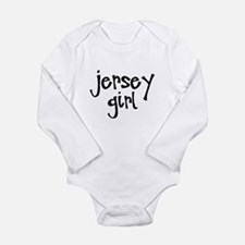 Jersey Girl Long Sleeve Infant Bodysuit