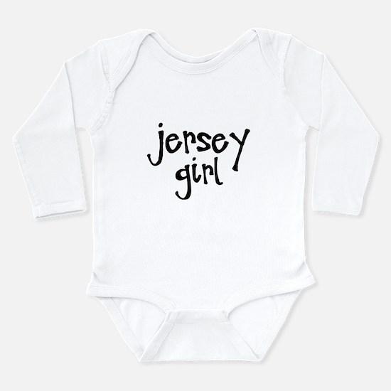 Jersey Girl Long Sleeve Infant Bodysuit